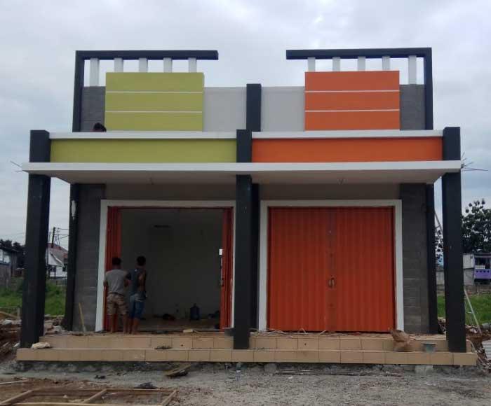 50 Contoh Desain Rumah Ruko 1 Lantai Terbaik